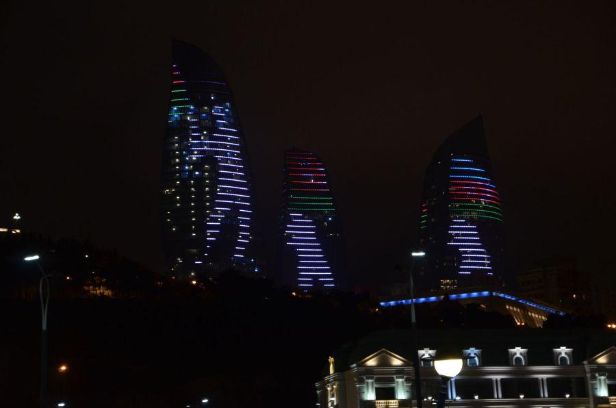 Fahnenschwinger LED-Show